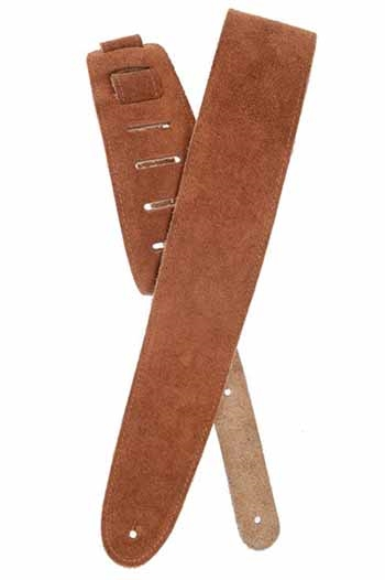 Planet Waves Honey Suede guitar strap