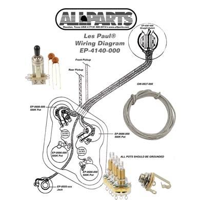 Kopplingsset För Les Paul Hos Gmf Se, Epiphone Les Paul Wiring Diagram