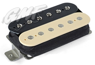 Roswell Pickup Humbucker Bridge Zebra