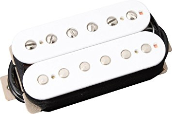Roswell Pickup Humbucker PAF typ Neck White
